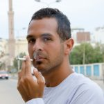 Muslim smoke cigarettes